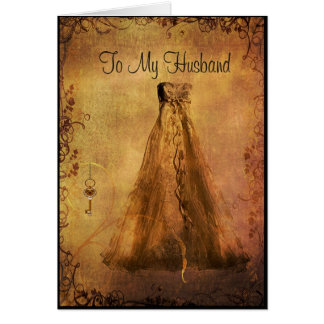 To my Husband on our Wedding Day Card