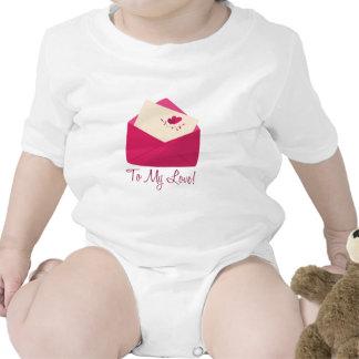 To My Love Baby Bodysuit