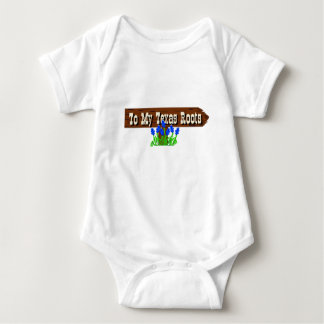 To my Texas Roots Baby Bodysuit