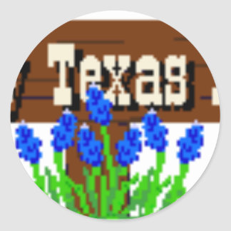 To my Texas Roots Classic Round Sticker