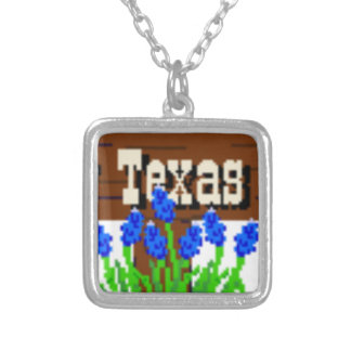 To my Texas Roots Silver Plated Necklace