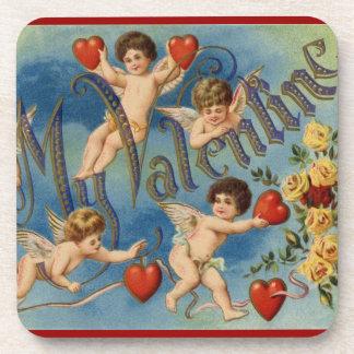 To My Valentine Beverage Coasters