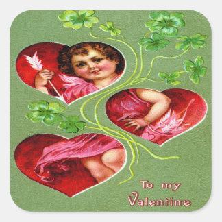 To My Valentine Square Sticker