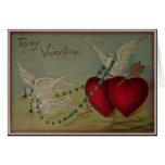 To My Valentine - Vintage Valentine Card