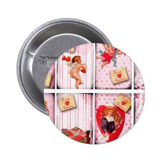 To My Valentine Vintage Valentine s Day Cupid Pins