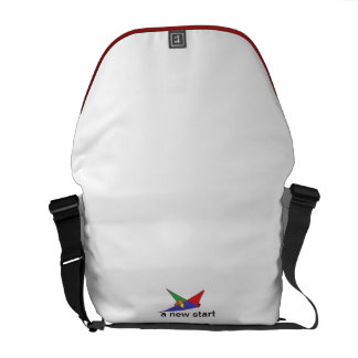 To new start messenger bag