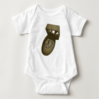 To nuclear baby bodysuit