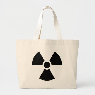 To nuclear canvas bag