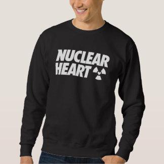 To nuclear Heart Classic Sweatshirt