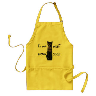 To our most sacred COOK Standard Apron