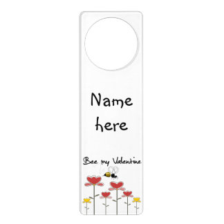 To personalize my Valentine Door Hanger