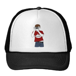 to photographer mesh hat