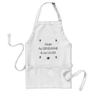 To play the GENDARME and COILING - Word games Standard Apron