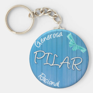 TO POUND - Summer Style Basic Round Button Key Ring