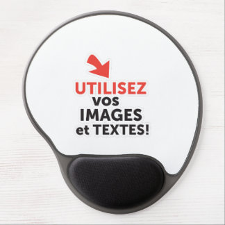 To print your designs in French line Gel Mouse Pad