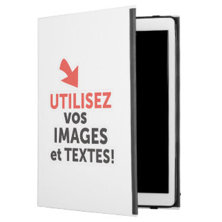 "To print your designs in line DIY in French iPad Pro 12.9"" Case"