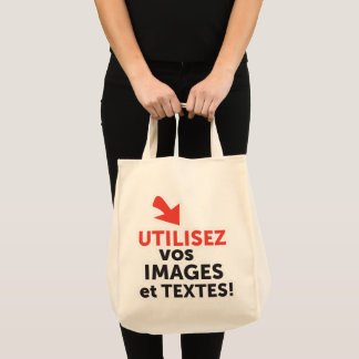 To print your designs in line DIY in French Tote Bag