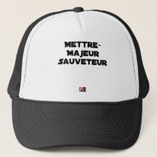 TO PUT MAJOR RESCUER - Word games Trucker Hat