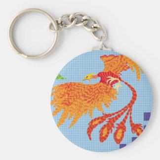 To resurge of the bird fenix key ring