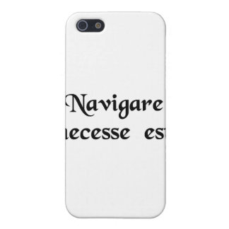 To sail is necessary iPhone 5 cover