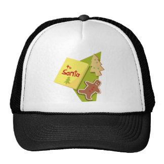To Santa Mesh Hats