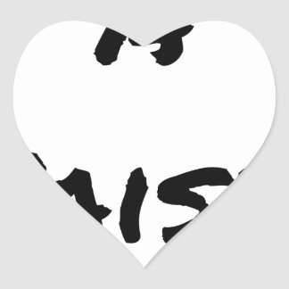 TO SEIZE - Word games - François City Heart Sticker