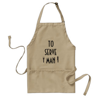 To Serve Man Deliciously Standard Apron