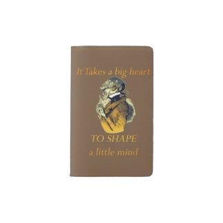 TO SHAPE a Little Mind Pocket Moleskine Notebook