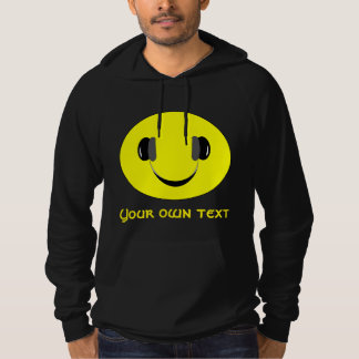 To smile music lover hoodie