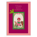 To Someone Special at Christmas Time Greeting Card