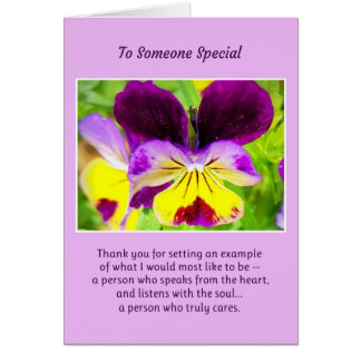 To Someone Special... Card