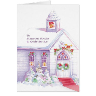 To Someone Special In God's Service Greeting Card