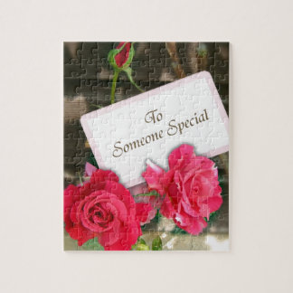 To Someone Special - Roses Jigsaw Puzzles