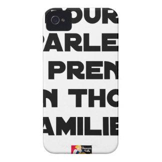 TO SPEAK I TAKE A FAMILIAR TUNA Case-Mate iPhone 4 CASES