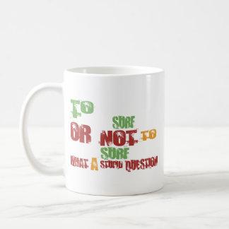 To Surf Coffee Mug