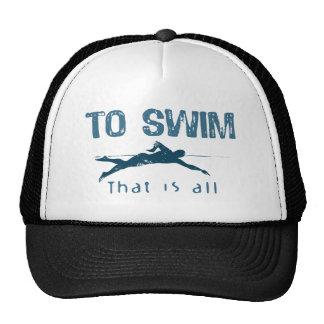 To Swim Trucker Hats