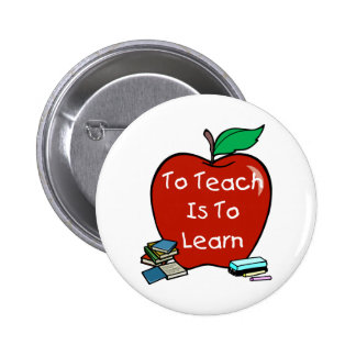 To Teach Is To Learn Button