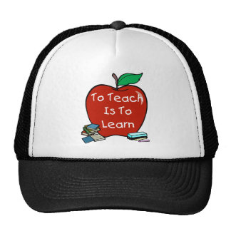 To Teach Is To Learn Mesh Hats