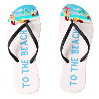 To the beach funny thongs