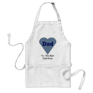 To: The Best Chef Ever Standard Apron