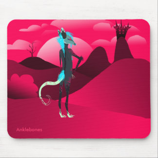 To the castle mouse pad