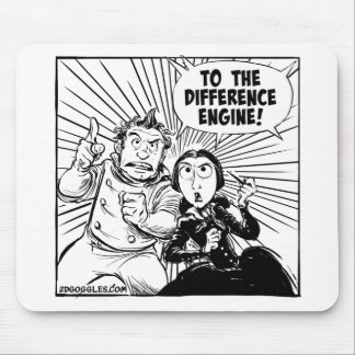 To The Difference Engine Mousemat