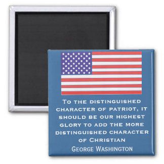 To the distinguished character of patriot, it shou magnet