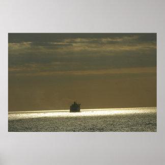 To the horizon poster