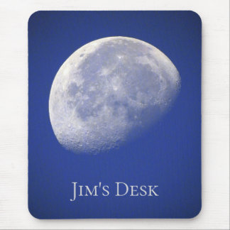 To the MOON and Back *Personalize* Mouse Pad