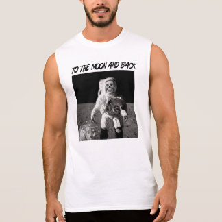 To The Moon and Back Sleeveless Shirt