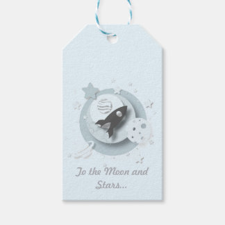 """""""To the Moon and Stars..."""" Gift Tags"""