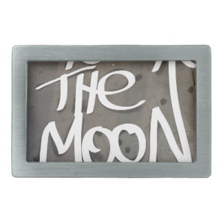 To the Moon Belt Buckle
