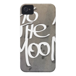 To the Moon Case-Mate iPhone 4 Cases
