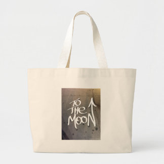 To the Moon Large Tote Bag